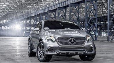 Salon de Pékin 2014 : Mercedes s'attaque au BMW X6 avec son Concept SUV Coupé