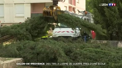 Salon-de-Provence : des tirs à l'arme de guerre près d'une école
