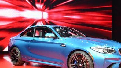Salon de Detroit 2016 : la BMW M2 Coupé expose ses 370 chevaux