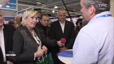 Salon du Made in France : Marine Le Pen répond présente