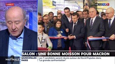 Salon : une bonne moisson pour Macron