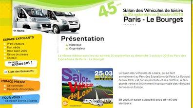 Le Bourget va accueillir le Salon des véhicules de loisirs