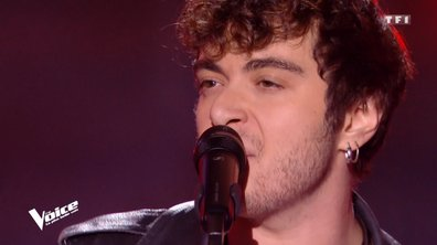 "THE VOICE 2020 - Sam Tallet chante ""With a little help from my friends"" de The Beatles"