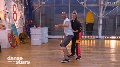 """DALS - Finale : Sami El Gueddari : """"j'ai les fesses à l'air"""""""