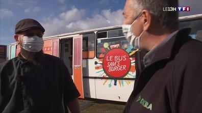 Samuel Dandin transforme un bus pour faire des burgers