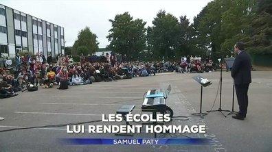 Samuel Paty : comment les écoles de France lui ont rendu hommage
