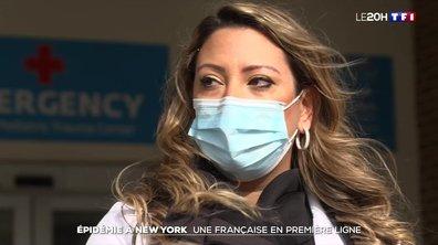 """""""Sans elle, nous n'aurions pas survécu"""" : une femme médecin française en première ligne contre le Covid à New York"""