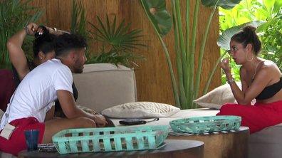 Sarah pense qu'Ahmed a eu une aventure avec Léana dans l'épisode 52 de La Villa des Cœurs Brisés