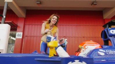 """VIDEO Insolite: Sauber importe le concept du """"drive"""" en F1"""
