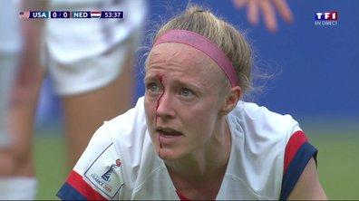 USA - Pays-Bas (0 - 0) : Sauerbrunn avec le visage en sang !