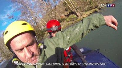 Sauvetage : comment les pompiers se préparent aux inondations