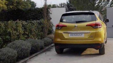 Le Renault Scénic montre son derrière à l'aube du Salon de Genève 2016