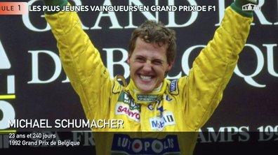F1 : Les plus jeunes vainqueurs de Grand Prix
