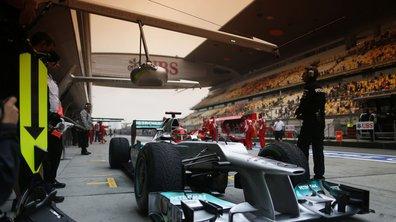 F1 - GP de Chine : essais dominés par McLaren et Mercedes