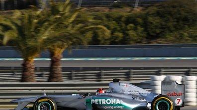 F1 : Schumacher domine la 2ème journée de tests à Jerez