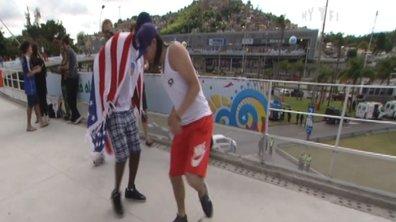Insolite : un freestyler français fait le spectacle au Brésil !