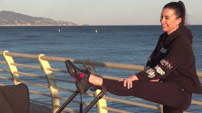 Séance de sport en famille pour Martika, Mia et Umberto