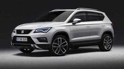 Le nouveau SUV Seat Ateca 2016 résumé en 10 chiffres