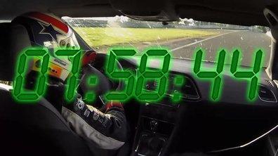 SEAT Leon Cupra 2014 : le record du Nürburgring en intégralité