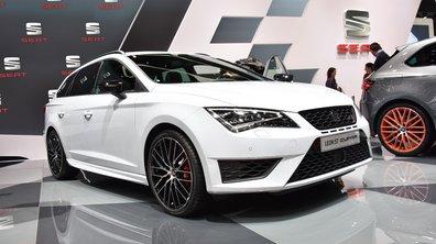 Salon de Genève 2015: SEAT Leon ST Cupra, faites le break et du sport!