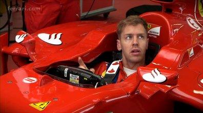 F1 : Premiers jours de Sebastian Vettel chez Ferrari à Fiorano