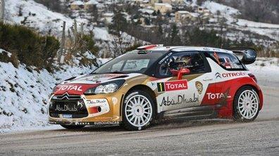 WRC - Monte-Carlo 2013 : Loeb leader à mi-parcours