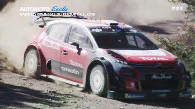 Exclu : Dans les coulisses du retour de Sébastien Loeb