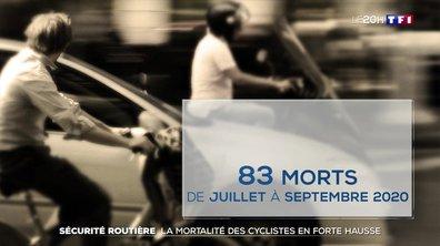 Sécurité routière : la mortalité des cyclistes en forte hausse