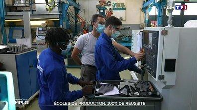 """""""Semaine pour l'emploi"""" : la réussite des écoles de production"""