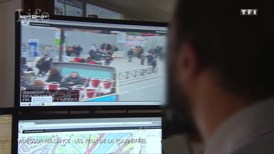 SEPT À HUIT LIFE - Vidéosurveillance : ce que repèrent les yeux de la Tour Eiffel