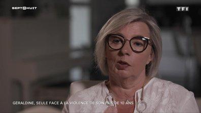 SEPT À HUIT - Géraldine gère seule la violence de son fils de 10 ans