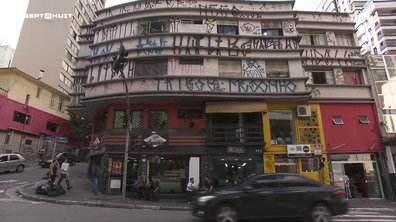 """SEPT À HUIT - Les """"Pixadores"""", ces tagueurs de l'extrême de São Paulo"""