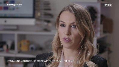 SEPT À HUIT - La youtubeuse Emmy se confie sur son lipœdème