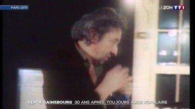 Serge Gainsbourg : toujours aussi populaire 30 ans après sa mort