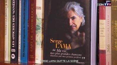 Serge Lama : le chanteur de retour, mais en librairie