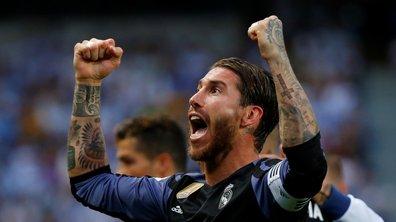 """Real Madrid / FC Barcelone (2-3) - Ramos a échangé son maillot avec Neymar après le Clasico : """"J'espère que ce sera son dernier avec Barcelone"""""""