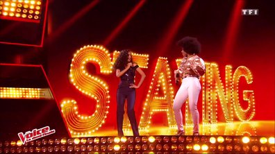 Shaby et Lucie – « Stayin' Alive » (Bee Gees) (Direct 3 – Saison 6)