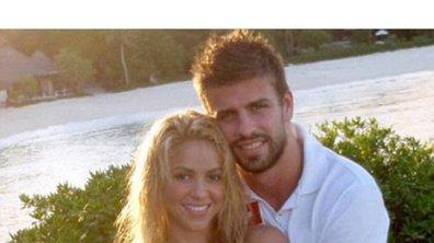 Shakira amoureuse de Gérard Piqué, la photo !