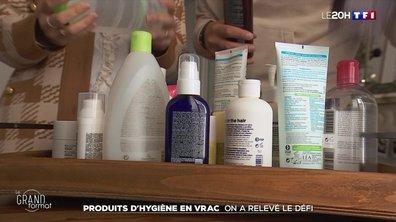 Shampoing, savon, dentifrice... On a testé les cosmétiques en vrac