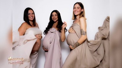 "Shooting photo ""futures mamans"" pour Rym, Jesta et Kelly"