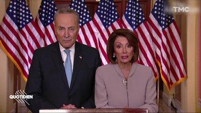 Shutdown : après Trump, l'allocution bien flippante des démocrates