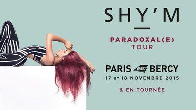 """Shy'm : Découvrez les 1è images de """"Paradoxale Tour"""", sa grande tournée-événement"""