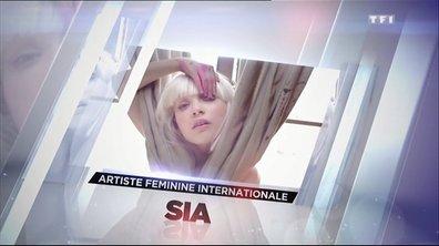 """Le doublé pour Sia et son """"Chandelier"""" aux NRJ Music Awards 2014 !"""