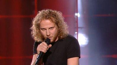 """The Voice 2021 – Silvio Ilardo chante """"J'accuse"""" de Damien Saez (KO)"""