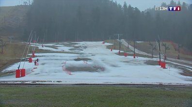 Ski : la neige manque sur les pistes des Vosges
