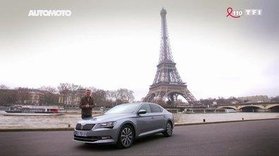 Peut-on faire un Paris-Rome avec un seul plein sur une Skoda Superb ?