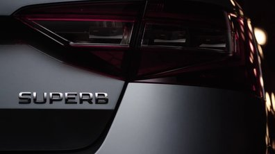 Skoda Superb 2015 : nouveau teaser officiel