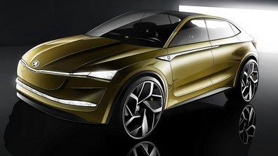 Skoda Vision E Concept : Un Kodiaq coupé électrique