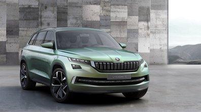 Skoda dévoile son futur SUV sous les traits du concept VisionS