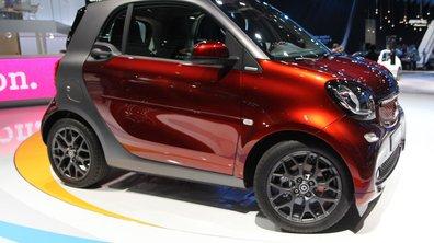 Smart Fortwo, la micro-citadine plus musclée - Mondial de l'Automobile 2014